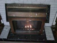 Valor Madeira Gas Fire - Mahogany