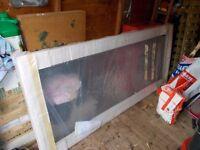 New Sealed Pivot Shower Door (still wrapped)