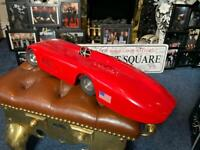 1920 antique large tin plate ( sunbeam ) world record collectors car