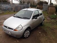 Ford ka 1.2 One year MOT