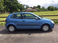 2005 Volkswagen Polo 1,2 litre 3dr 1 owner