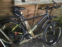 Voodoo mountain bike..2 year service plan at Halfords also included.
