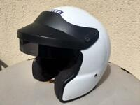 HEDTEC Open Face Racing Helmet 2 x Small / 2 x Med available