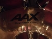 """Sabian AAX Stage crash 16"""" in very good condition"""
