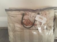 Mammas and papas cot bed set and mobile
