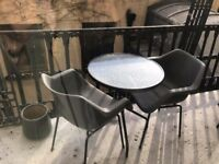 Balcony/garden furniture, two sets
