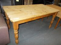 Solid Country Pine Table...WF1866...