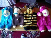 Hand knitted pyjama case's