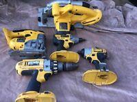 Dewalt 18volt tool kit bare units only .