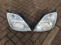 Ford Fiesta mk 6 headlights,£50 the pair