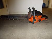 dolmar 119 chainsaw spares or repairs does run
