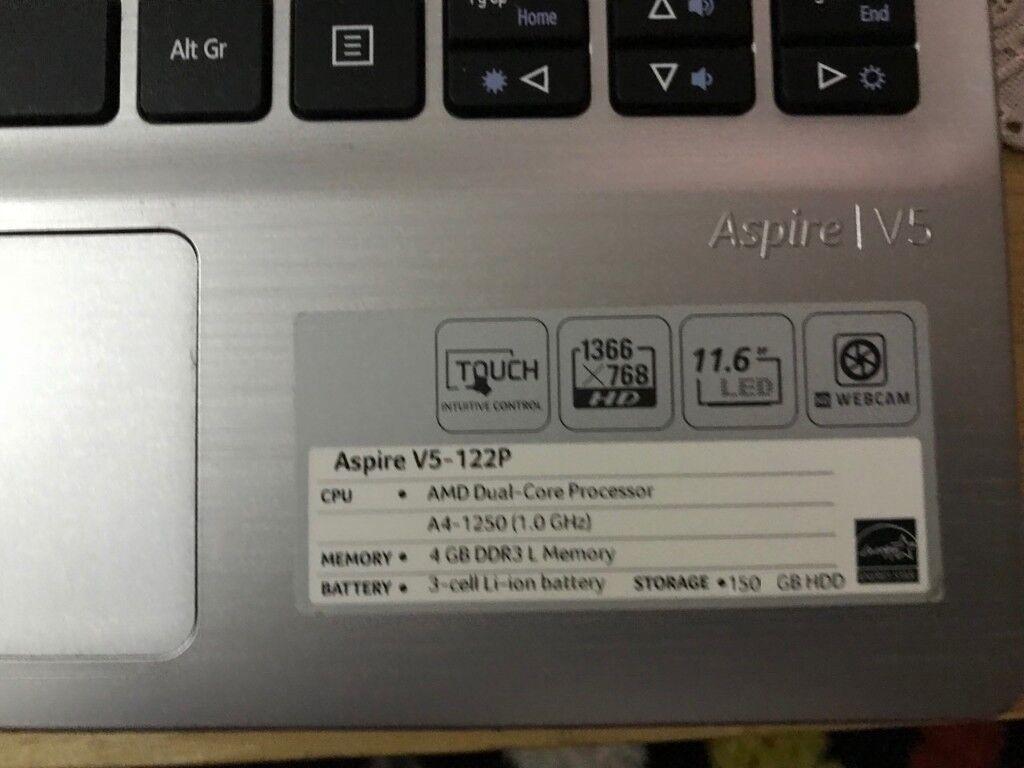 Acer Aspire V5-122p 11 6