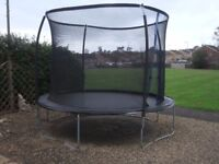 Sportspower 10 Ft Trampoline with Safety Enclosure