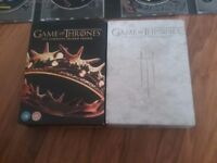 Game of thrones season 2 and 3