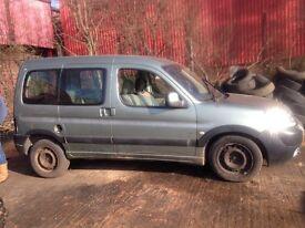Peugeot partner for breaking