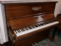CORONET UPRIGHT PIANO SUITE BEGINER £120 CAN DELIVER FREE LOCAL