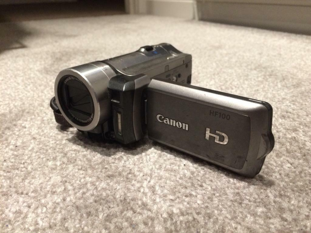 Canon HF100 HD 1080p digital camcorder