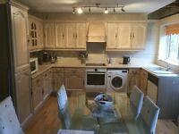 Kitchen units solid wood sink extractor washer buyer collect
