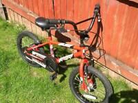 """Terrain X fire 16"""" bike"""