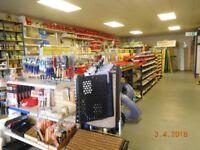 Tegometal shelving, panels, metal racking, storage