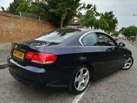 !!! BMW 325I 2.5 SE 3 SERIES E92 COUPE NEWER SHAPE 56 PLATE !!! 6 SPEED PARKING SENSORS !!!