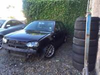 Vw Golf Mk4 GTTDI 150 ARL breaking for spares.