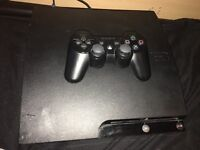 PS3 with games and extras