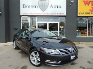 2014 Volkswagen CC Sportline-B-UP CAM, SUNROOF, LEATHER, ALLOY W