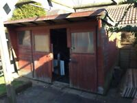 Second hand garden shed