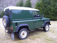 Land rover defender wanted (td5 / 4x4) diesel