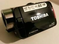 Toshiba Camileo H30 Full HD Camcorder used