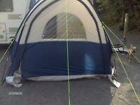 caravan sunncamp scenic plus porch awning navy/gray 23o x230 x230 x 200 inside head height.
