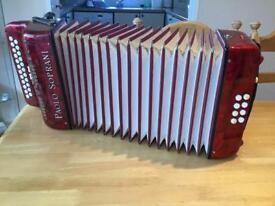 Paolo Soprani accordian SOLD. SOLD