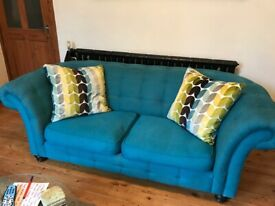 Sofa and cuddler sofa