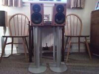 EPOS ELS 3 Speakers With Atacama Stands