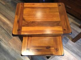 Nest of 2 tables (dfs)