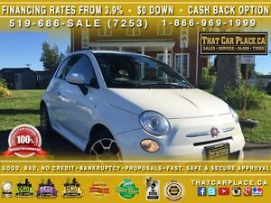 2015 Fiat 500 Sport-$38/Wk-Bluetooth-USB/AUX-FuelEfficient