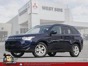 2014 Mitsubishi Outlander ES-Accident Free-Own Owner-SiriusXM