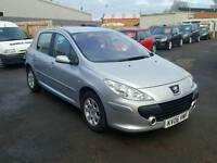 2006 06 peugeot 307 **automatic** 74k immaculate