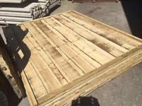 🎆Heavy Duty Wooden Wayneylap Fence Panels * Pressure Treated