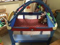 Pack n Play (travel cot/ bassinet and playmat) in one £25 Very good condition