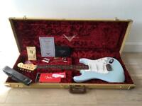 Fender Custom Shop '59 Stratocaster NOS Faded Sonic Blue