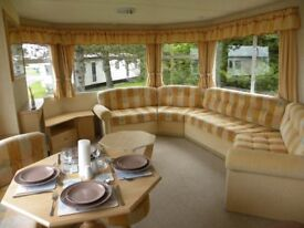 Sited Static Caravan for Sale, Near Tenby West Wales, 2018 Site Fees Included