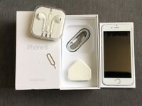 iPhone 6 Unlock 16GB Silver Mint Condition Box and all accessory