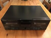 Technics RS-X120 Stereo Double Cassette Deck - Good Working Condition