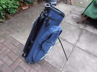 """ THE WILD ONE "" Golf CARRY / CART BAG,"