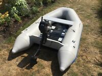 Waveco 2.6m Dinghy/Tender & Mercury 2.2Hp 2 Stroke Engine
