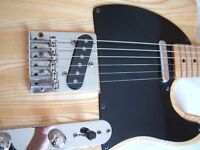 Hondo Deluxe Series 757 electric guitar - '80s - Fender Telecaster homage - natural gloss