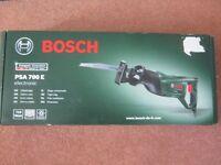 Bosch PSA 700E Electronic sabre saw (reciprocating) New sealed box.