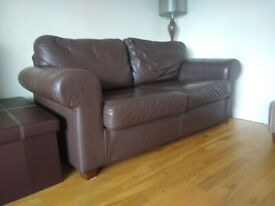 Brown 2 Seat Sofa - IKEA
